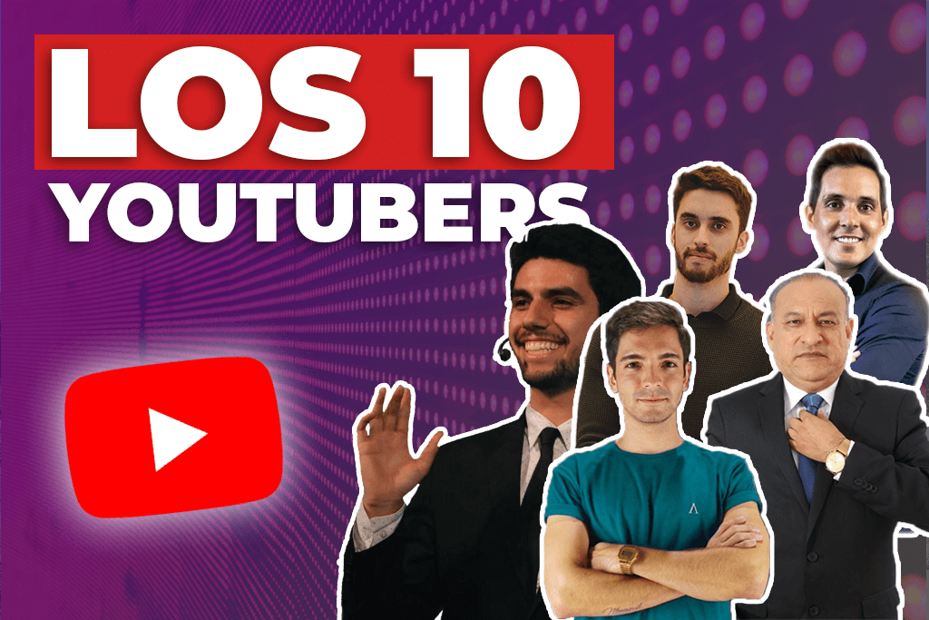 MEJORES YOUTUBERS
