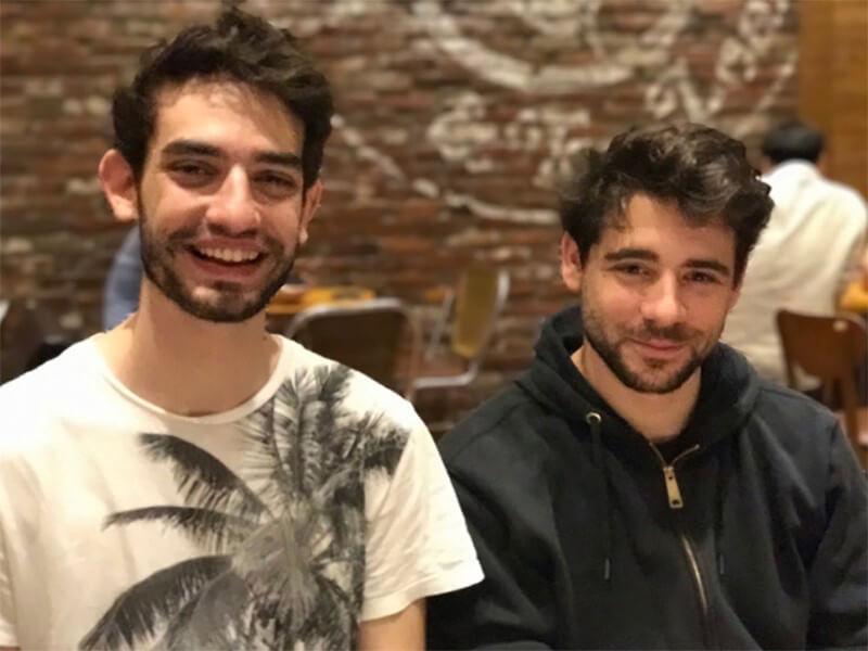 Esteban Ordano y Ari Meilich