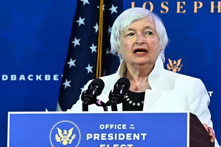 Janet Yellen Secretaria de Tesoro