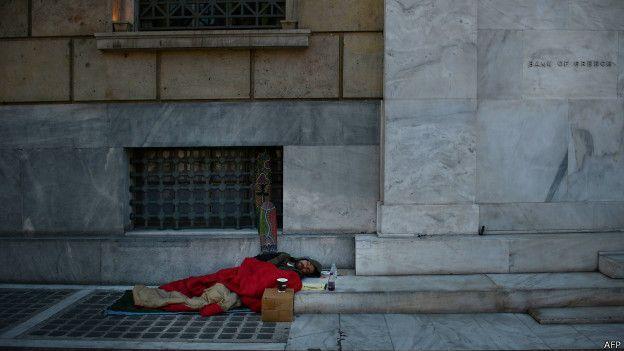 Pobreza en Grecia
