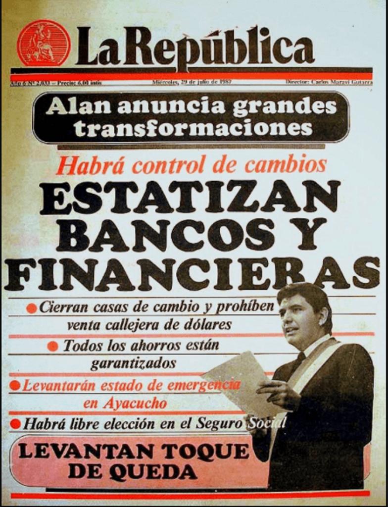 Alan García Bancos