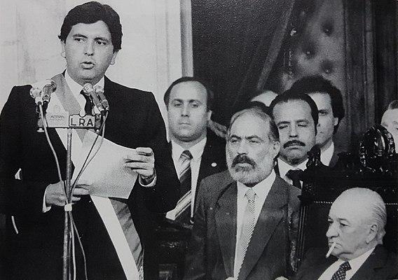 Alan García Expresidente de Perú