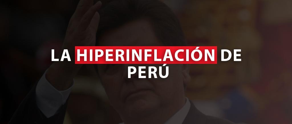 Hiperinflación de Perú