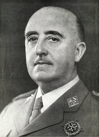Dictador Francisco Franco